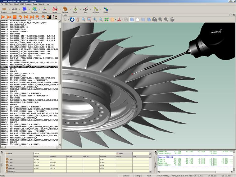MODUS software - Full blisk RSP2