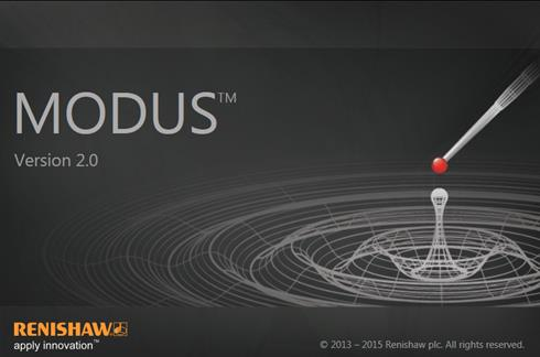 MODUS 2 screen shot - opening screen