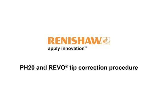 PH20 and REVO tip correction
