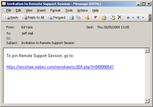 Invitation to the Webex support session