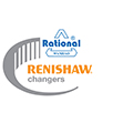 Renishaw changers promotion logo - Rational