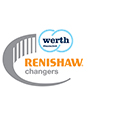 Renishaw changers promotion logo - Werth