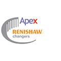 Renishaw changers promotion logo - Apex