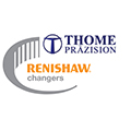 Renishaw changers promotion logo - Thome