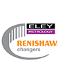 Renishaw changers promotion logo - Eley