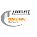 Renishaw changers promotion logo - Accurate