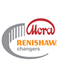 Renishaw changers promotion logo - Mora