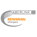 Renishaw changers promotion logo - Aberlink