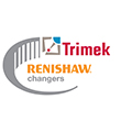 Renishaw changers promotion logo - Trimek