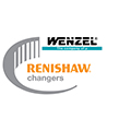 Renishaw changers promotion logo - Wenzel