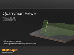 SplashScreen for Quarryman Viewer Software