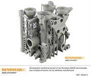 Development manifold produced on the Renishaw AM250 machine