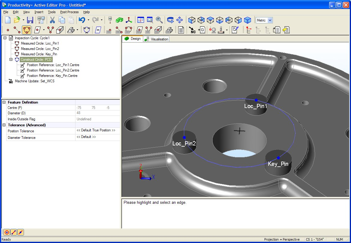Enhanced PC-based probing software is available to machine tool users