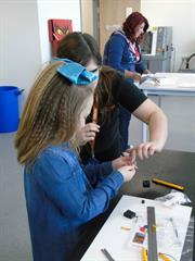 Renishaw inspires budding engineers with hands on learning