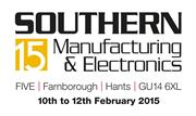 Southern Manufacturing exhibition logo 2015