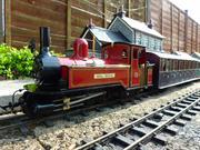 North Wales NGR Single Fairlie Moel Tryfan train model