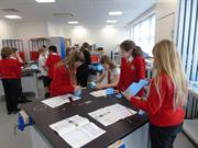 FDC Primary school pupils busy making in the workshop