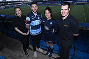 Renishaw becomes official partner of Cardiff Blues Community Foundation