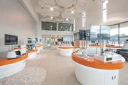 Product demonstration area, Renishaw Innovation Centre