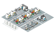 Renishaw smart factory illustration