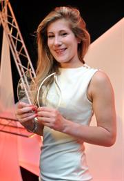 Engineering Apprentice of the year 2014 - Eva Fielding