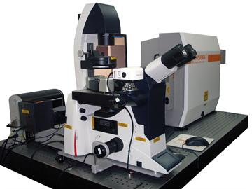 Renishaw inVia Raman microscope integrated with a Bruker Nano Surfaces Bioscope Catalyst