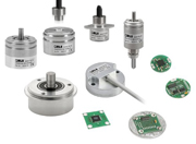 Magnetic rotary encoder family