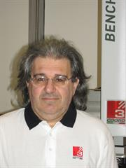 Fabrizio Tonellato, principal electronics engineer for COORD-3