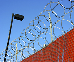 Security perimeter fence