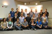 Part of Renishaw's 2012 apprentice intake