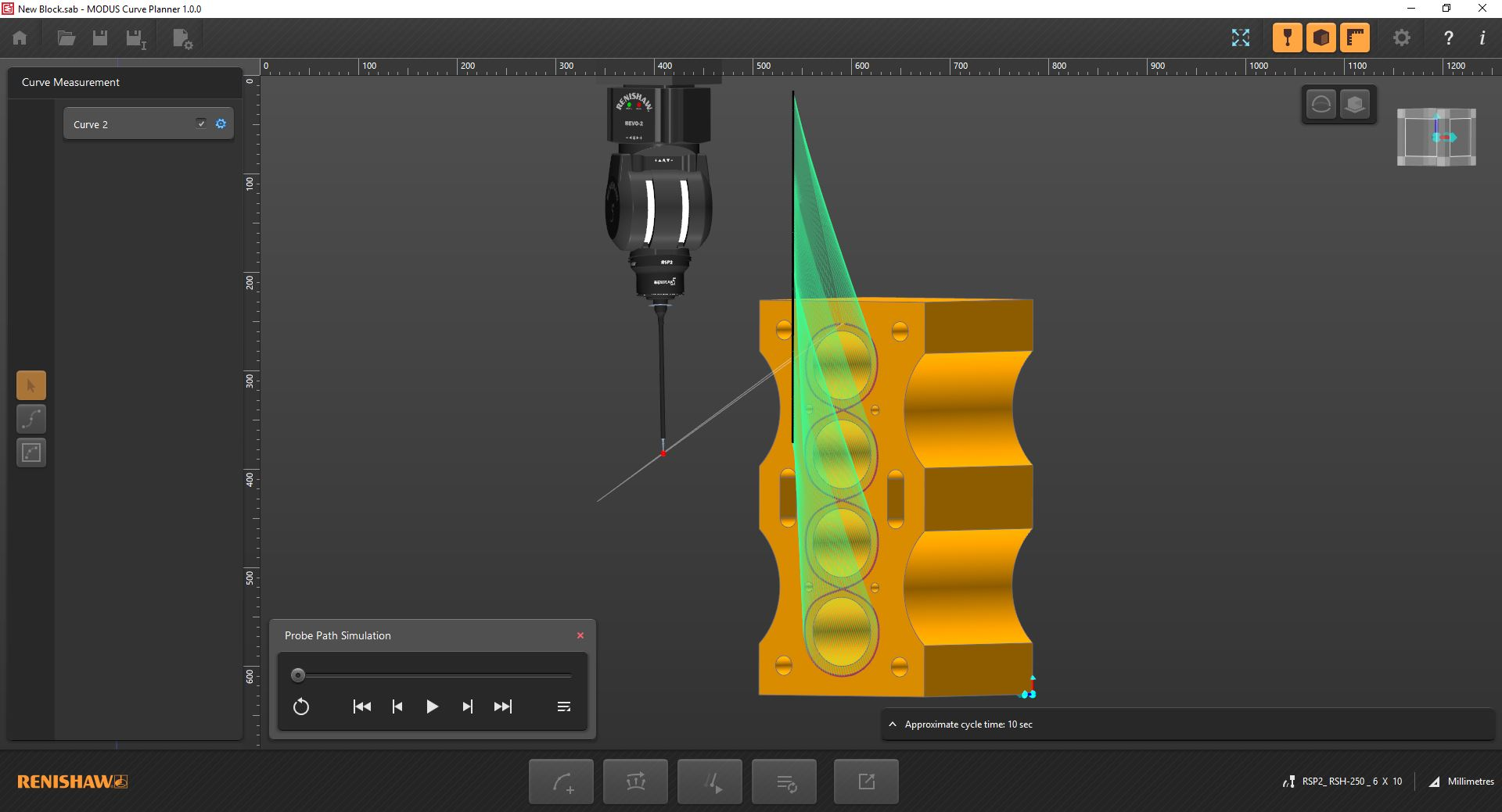 Enhanced access capability for the REVO® 5-axis measurement system