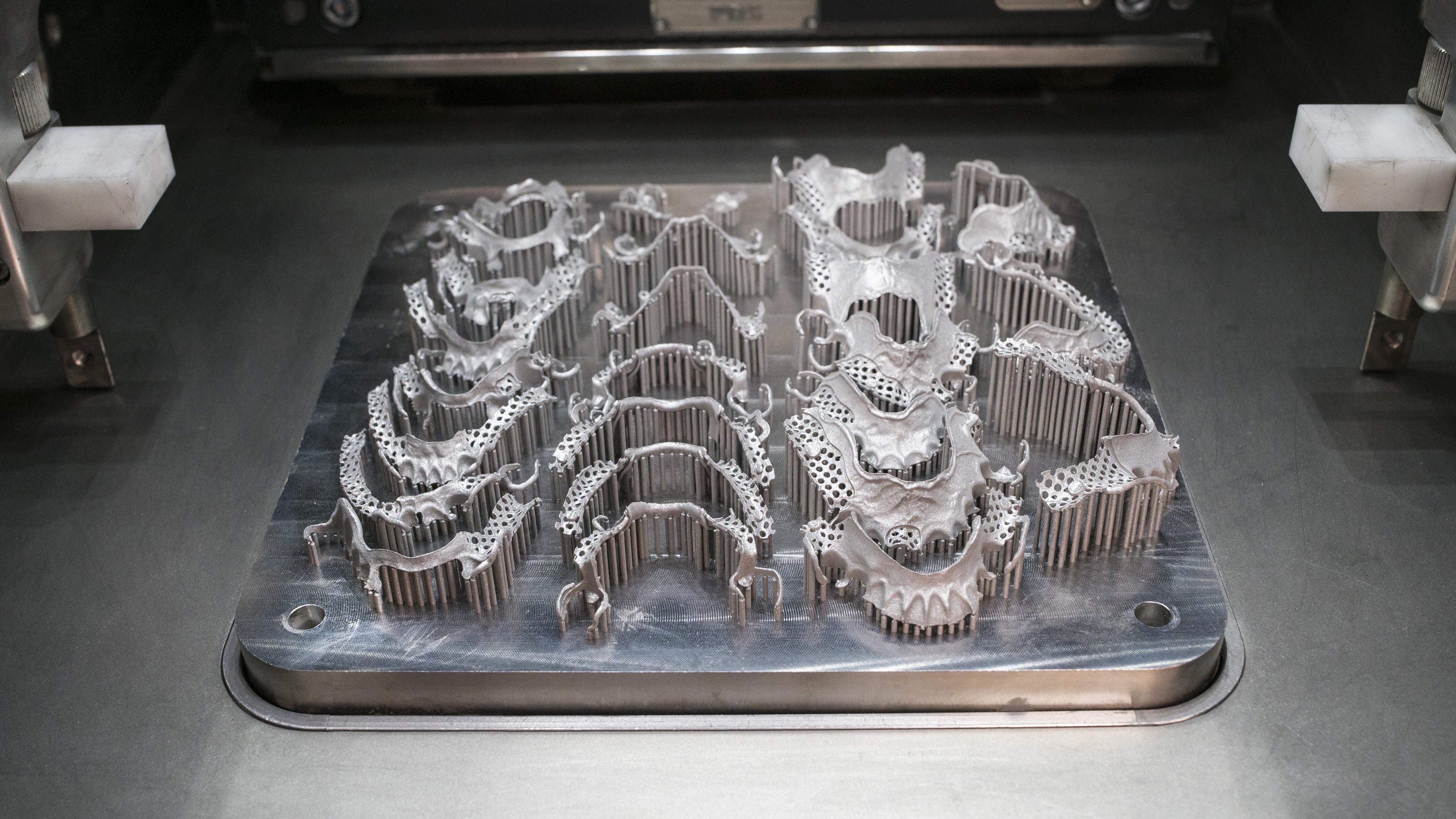RPD build plate