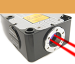 Laser encoder: beam pointing stability
