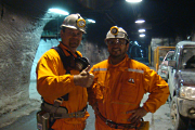 C-ALS operators down a mine in Chile