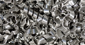 Metal shavings - reduce scrap