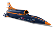 3D representation of a prototype design for the BLOODHOUND Supersonic Car (image courtesy of Siemens NX)