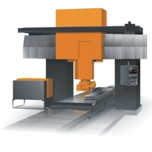 Gantry CNC machine