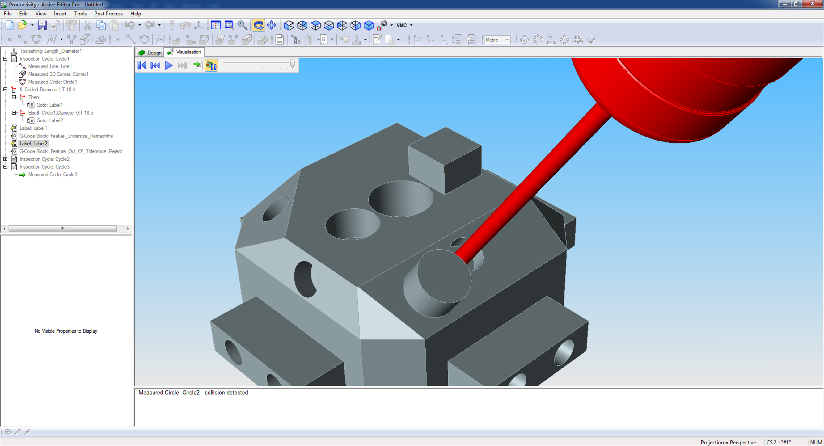 Productivity pc based probe software for machining centres prove out the program active editor pro baditri Gallery