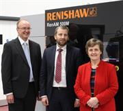 West Midland MEP Anthea McIntyre visits Renishaw Stone