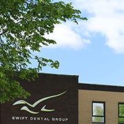 Front of swift dental group