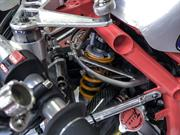 Additively manufactured titanium motorcycle component