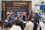 Prime Minister David Cameron meets Renishaw apprentices and graduates
