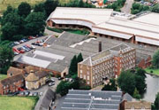 New mills aerial view
