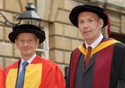 Sir David McMurtry receives Honorary Doctor of Engineering Degree from the University of Bath