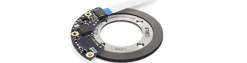AksIM magnetic rotary absolute encoder module