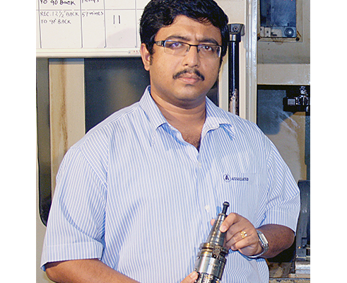 Associated tools case study - Mr H J Bishnu, director of Associated Tools has noticed dramatic results with the introduction of Renishaw's OMP60