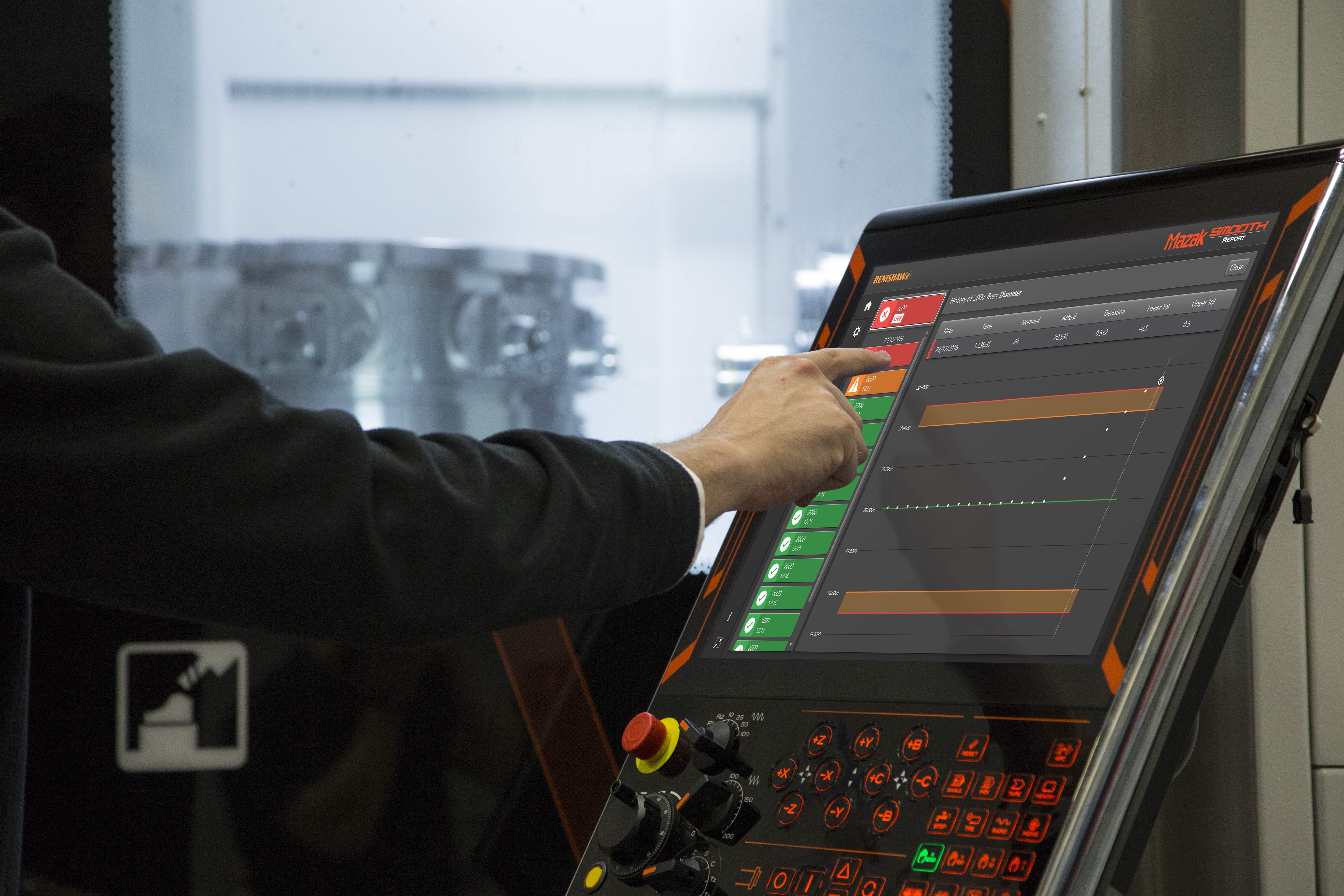 Renishaw unveils extended range of on-machine apps for CNC