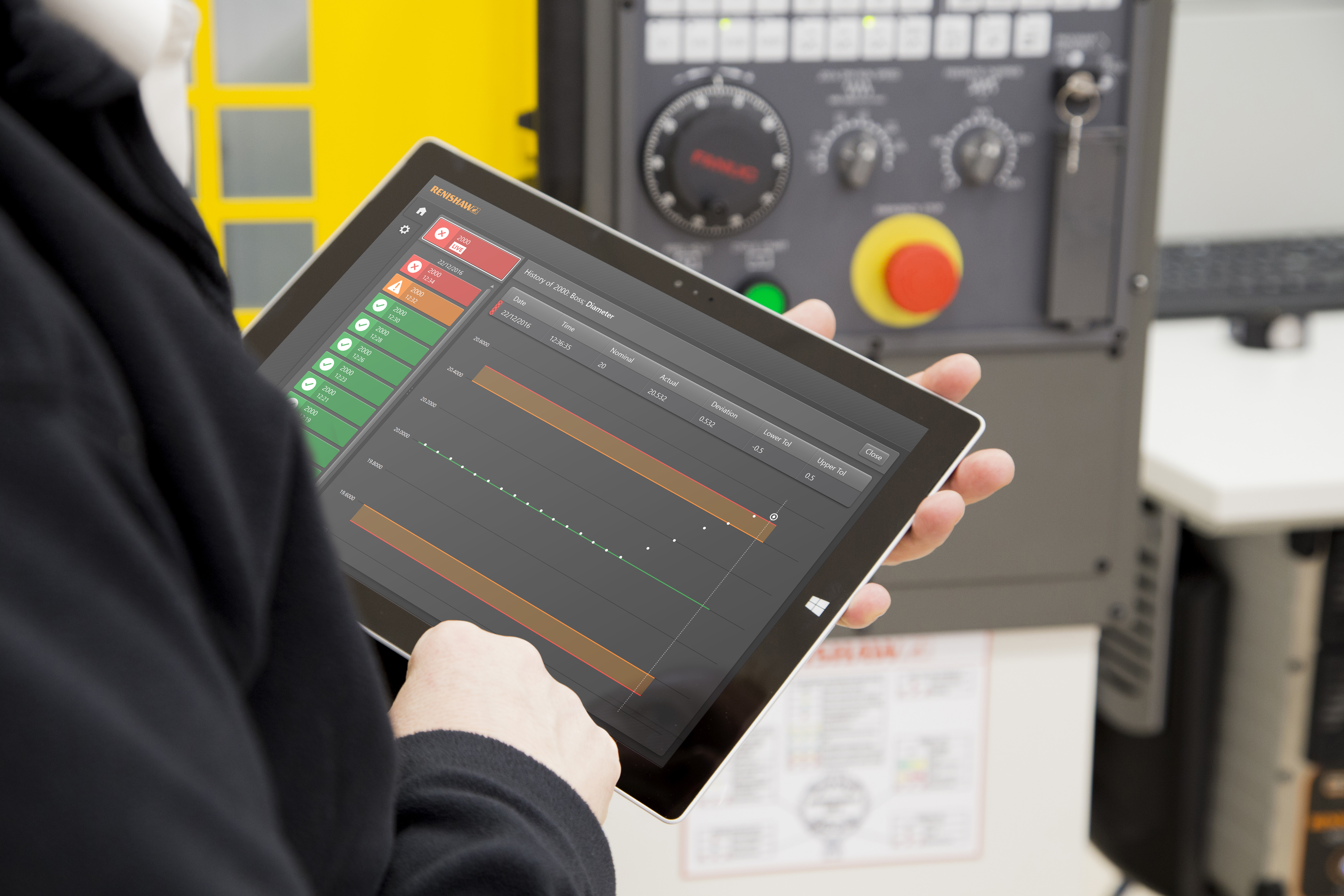 Renishaw unveils extended range of on-machine apps for CNC machine tools