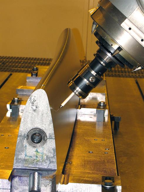 Patented RENGAGE technology allows probing from any direction with a one-time calibration