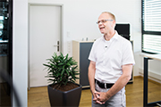 Ulrich Kerber, Head of industrial drives at TQ-RoboDrive